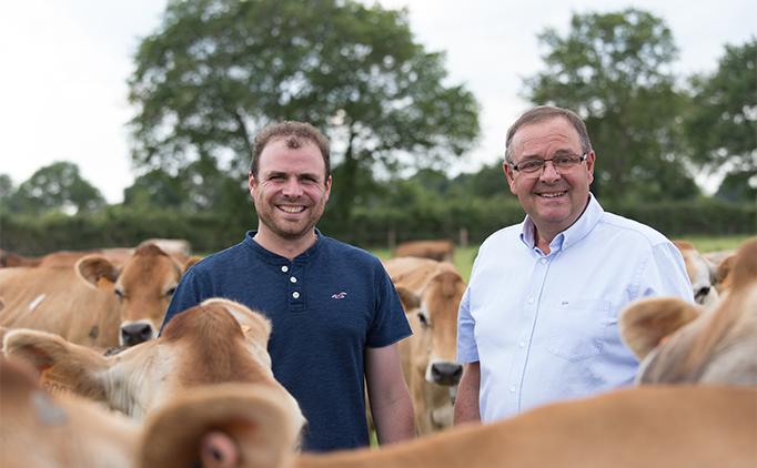 Pierre-Yves et Bernard Gaborit agriculteurs