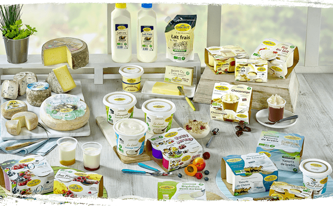 Gamme yaourt, dessert et fromage blanc bio