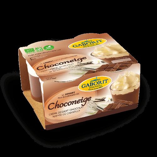 Choconeige - Liégeois au Chocolat bio
