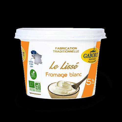 fromage blanc nature bio au lait entier 5% MG