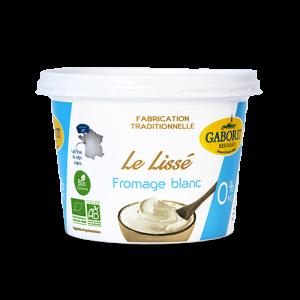 fromage blanc bio 0% lissé - allégé en matière grasse