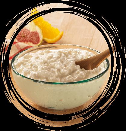 fromage blanc bio de campagne - Texture en grains