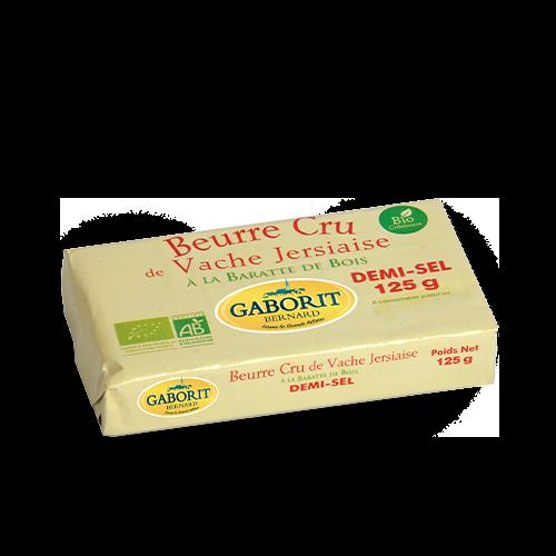 Beurre cru demi-sel bio