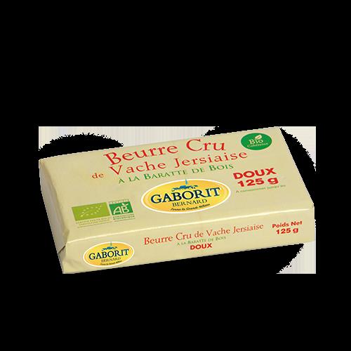 Beurre cru doux bio