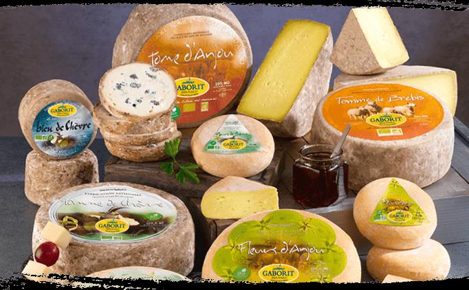 Gamme fromages affinés bio