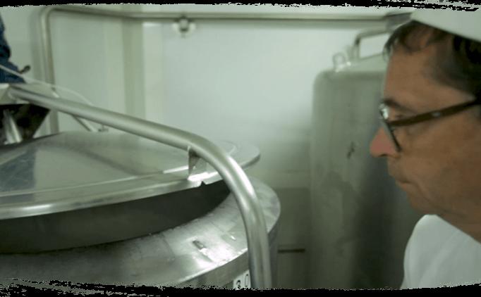 Pasteurisation lente au bain-marie du lait