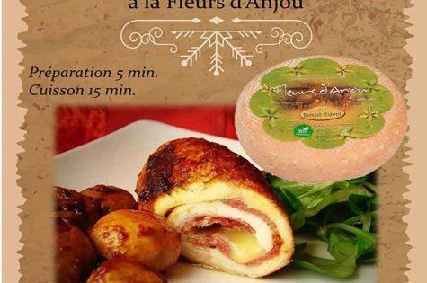 Recette de Noël : dinde au fromage