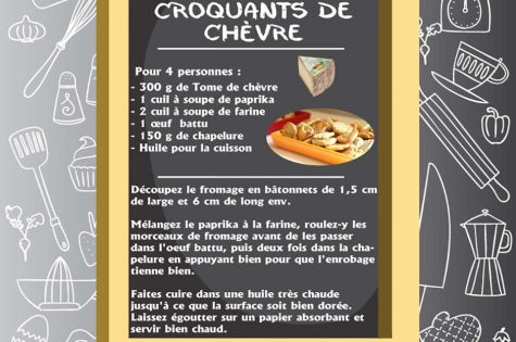 recette crousti fromage pané