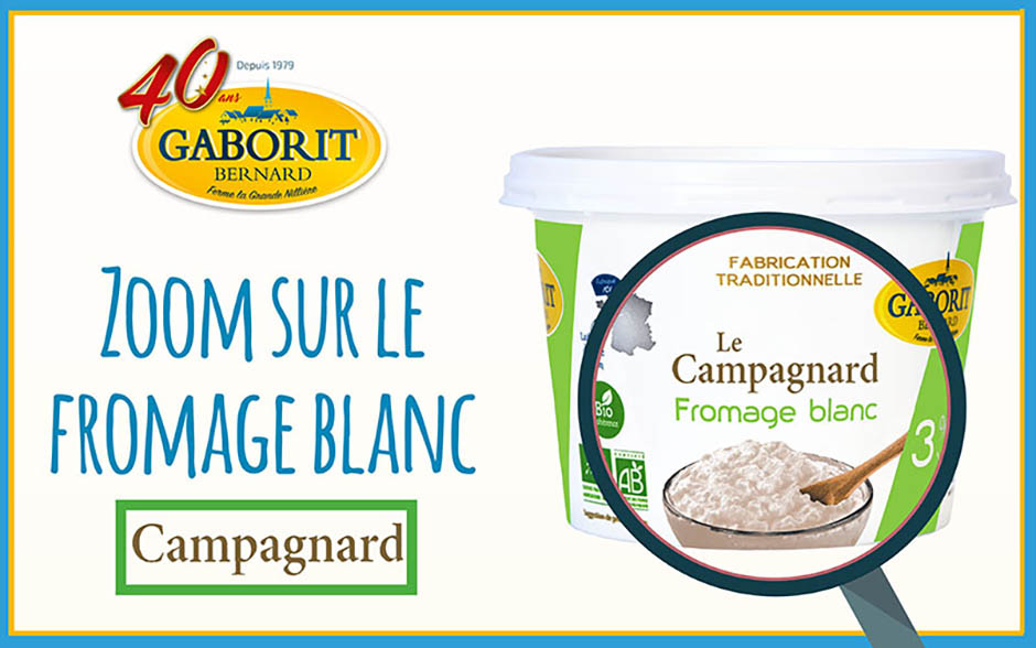 Zoom fromage blanc de campagne