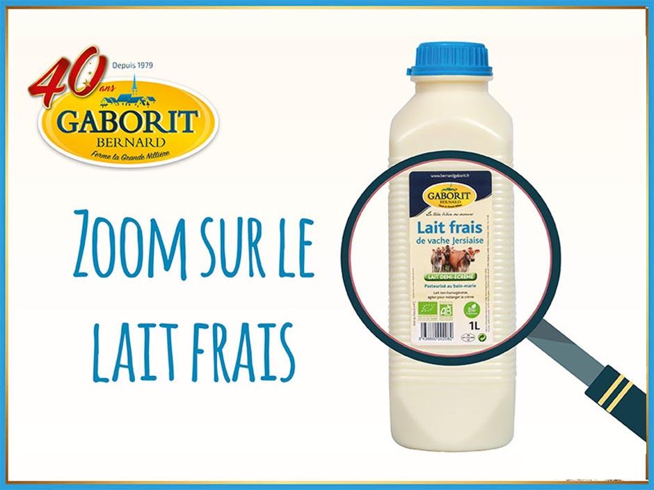 Tout savoir sur le lait bio