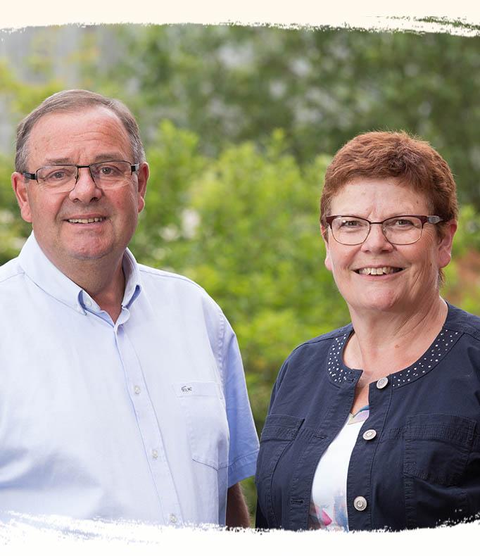 Bernard et Geneviève Gaborit