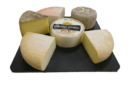 Grand plateau de fromages - local