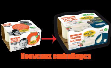 Nouveaux emballages yaourts nature